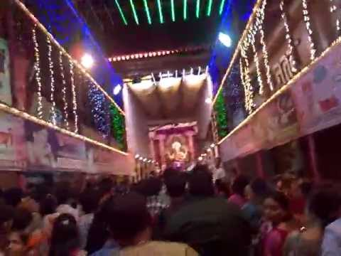VLOG:A Glimpse of Lalbagh Cha RAJA 2012' Darshan Travel Video
