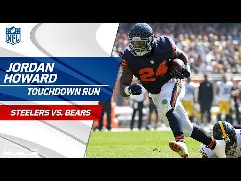 Eli Rogers' Botched Punt Sets Up Jordan Howard's TD Run! | Steelers vs. Bears | NFL Wk 3 Highlights