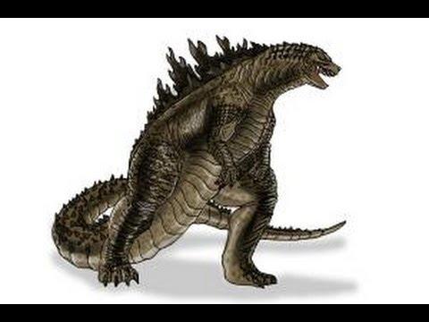 How to Draw Godzilla 2014 YouTube