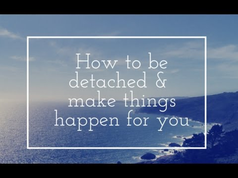 Deepak chopra law of detachment