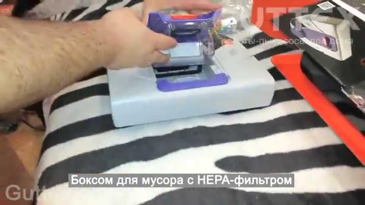 Распаковка робота пылесоса NEATO XV 21 в интернет магазине Guttex com ua