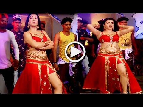आम्रपाली दुबे की शूटिंग | Aamrapali Dubey Video Song On Location| Bindaas Bhojpuriya