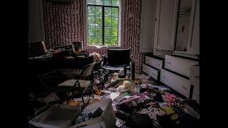 Abandoned MILLIONAIRES Mansion. Flint, MI. (EVERYTHING LEFT BEHIND)