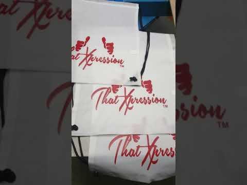 ThtaXpression fitness gym drawstring bags