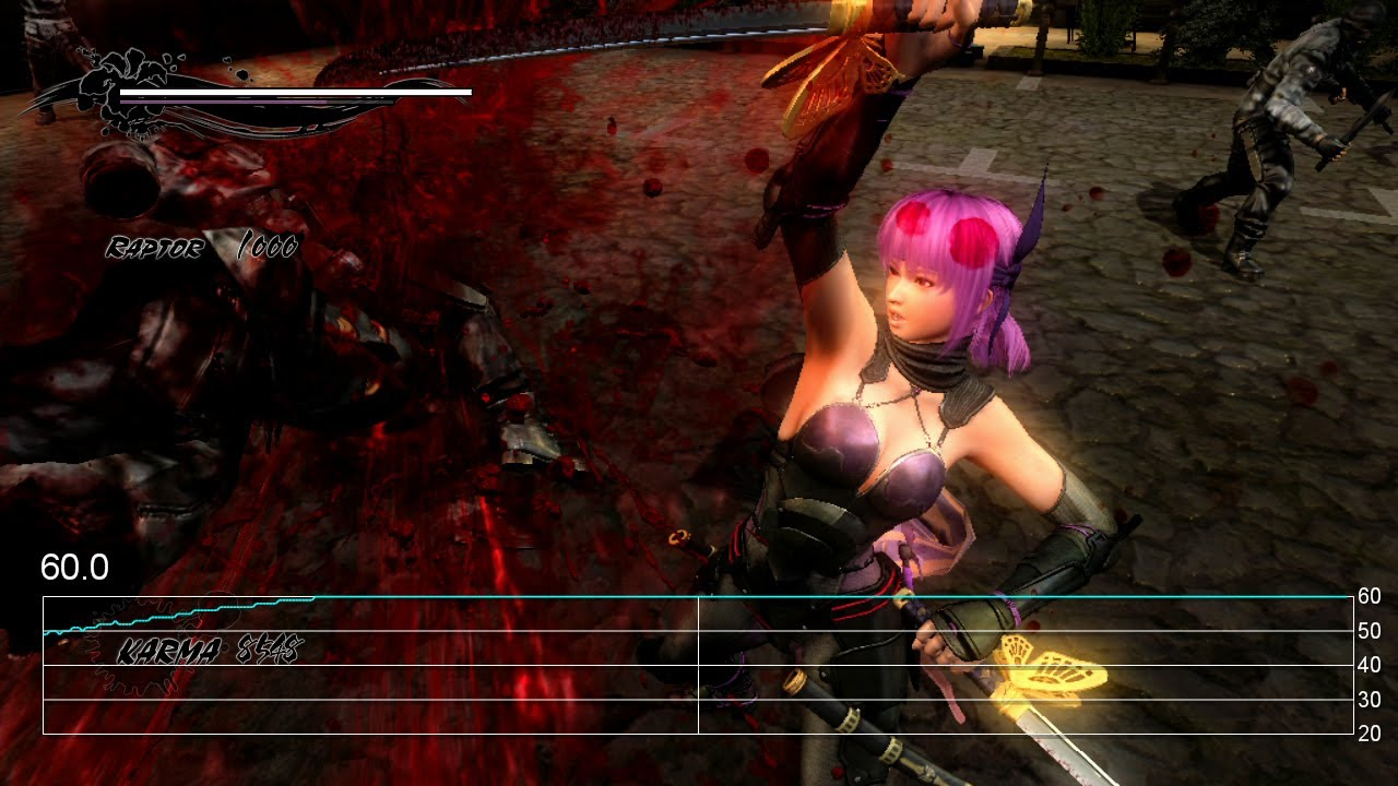 Ninja Gaiden 3 Razor S Edge Wii U Ayane Gameplay Frame Rate Tests