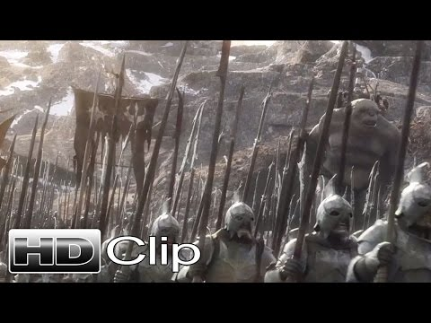 "THE HOBBIT: THE BATTLE OF THE FIVE ARMIES - ""Attack The City"" Clip - Official (2014) [HD]"