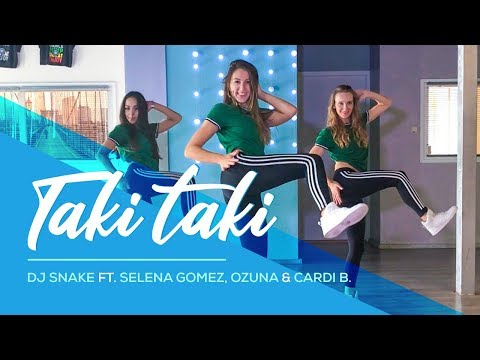 Taki Taki - DJ Snake ft. Selena Gomez, Ozuna, Cardi B - Easy Dance Video - Choreography #Takitaki - Ржачные видео приколы