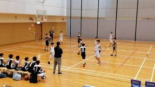 Publication Date: 2019-02-27 | Video Title: 港島東小學學界男子籃球2019 分組賽 玫瑰崗(白衫)vs