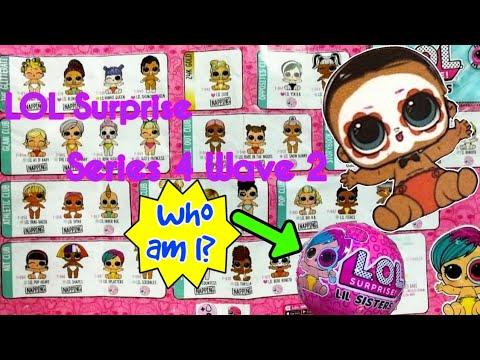LOL Surprise Lil Sisters EYE SPY Wave 2 Series 4 Doll