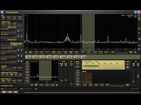 MW DX: YVKS RCR 750 Radio Caracas 750 kHz, Venezuela, copied  with Perseus SDR