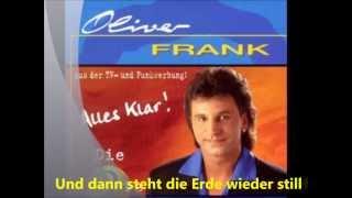 Oliver Frank *Und dann steht die Erde wieder still*