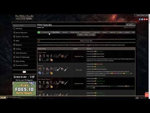 Elder Scrolls Online Build Editor