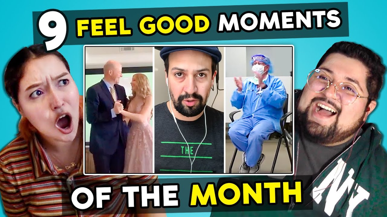 9 FEEL GOOD Moments That Will Make 97% Of People SMILE (Some Good News & More!) | Adults React