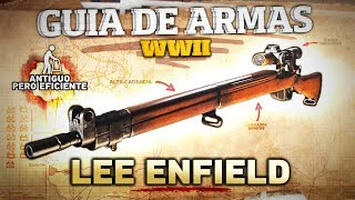 GUIA de ARMAS COD WWII - Lee Enfield, antiguo pero eficiente (Estadísticas y Mejores Clases)