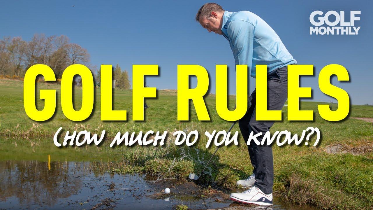 Golf Rules Quiz part 3