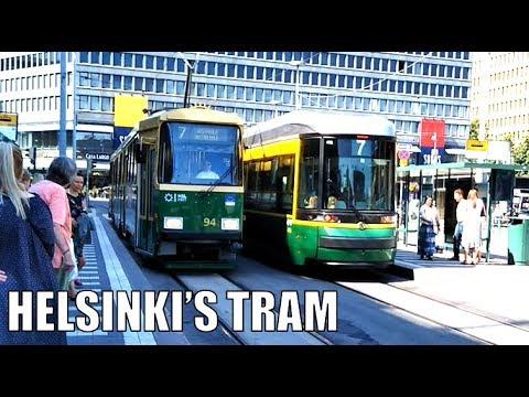 Helsinki's Tram Network Drawyah