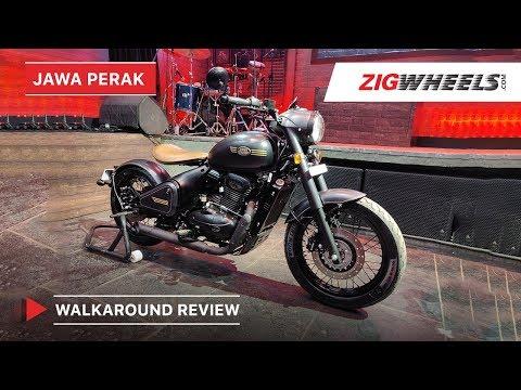 Jawa Perak Walkaround Review | Price, Features, Engine Details & More | ZigWheels