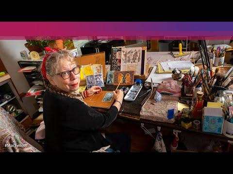 """Lynda Barry is a Macarthur """"genius"""""""