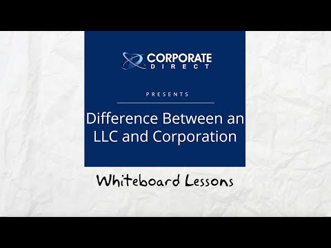 Difference Between an LLC & Corporation