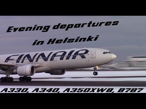 A LOT OF HEAVIES - evening departures in Helsinki [FULL HD]