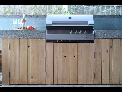 How To Create An Outdoor Bbq Area Youtube