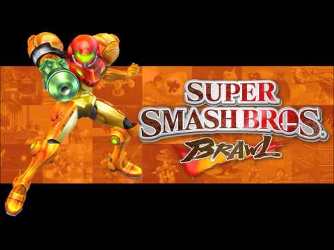 Super Smash Bros Brawl Music - Brinstar Melee - (HD)
