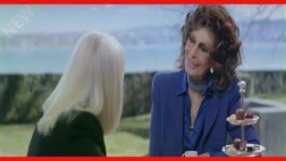 """""""Mi vuoi sputt....e?"""": Raffaella Carrà scherza con Sophia Loren"""