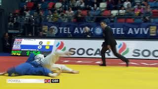 Natalie Powell -78kg GOLD at #JudoTelAviv