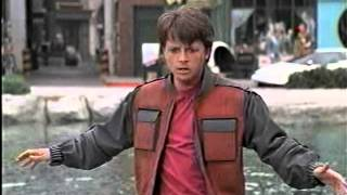 Back to the Future II 2 : Hoverboard Scene