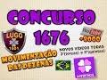 LOTOFACIL 1676 MOVIMENTAÇÃO DAS DEZENAS - DICAS PALPITES ESTUDOS BOLÕES