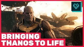 Bringing Thanos to Life in 'Avengers: Infinity War'