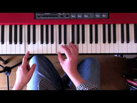 A rhythm exercise for pop piano comps