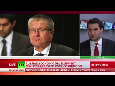 Russia's Minister of Economic Development detained over corruption