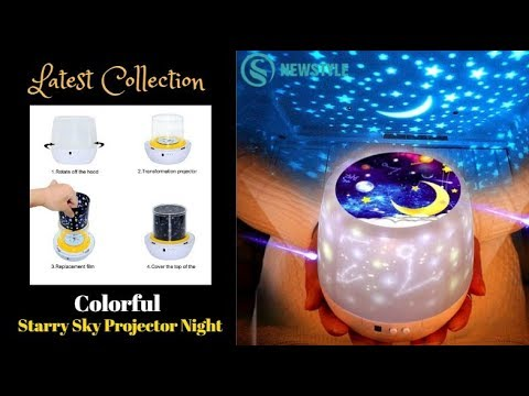 Best Cosmos Star Master Projector | Latest Colorful LED  Starry Sky Projector | Top Product