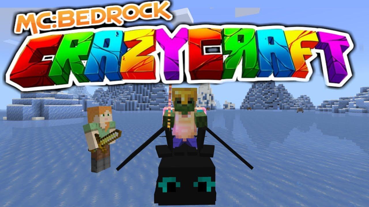 Crazycraft BUG FIX Update Download (Minecraft Bedrock Edition)