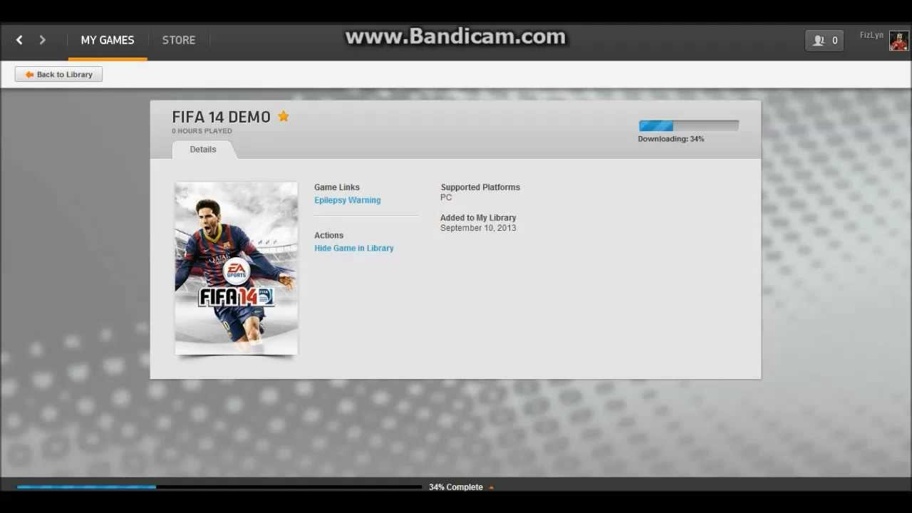 origin for fifa 14 download