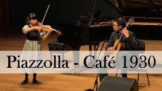 "Chloe Chua and Kevin Loh | Astor Piazzolla Café 1930 from ""Histoire du Tango"""