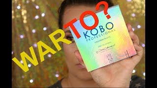 Najbardziej kolorowa, paleta KOBO - OVER THE RAINBOW - czy warto kupić?
