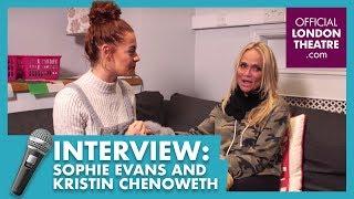 Sophie Evans meets Kristin Chenoweth