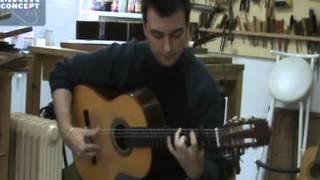 Trenas por bulerias con guitarra de José Rodríguez