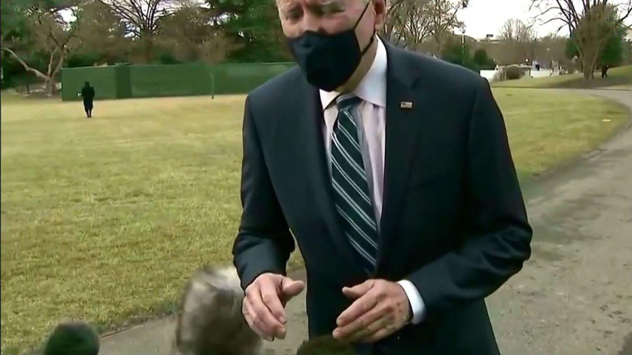 Американцы смеются над новым президентом США Джо Байденом