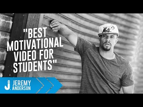 Best Motivational Video for Students | Jeremy Anderson