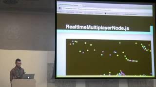 Mario Gonzalez: Realtime HTML5 Multiplayer Games with NodeJS