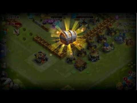 Castle Clash : The Most Epic Trick,, Rolling With Insane Trick #the Best