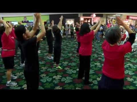 World Tai Chi Day 2014 at Kahala Mall everydaytaichi lucy chun Honolulu, Hawaii