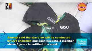 Amongi has officially flagged off distribution of masks in Kampala.