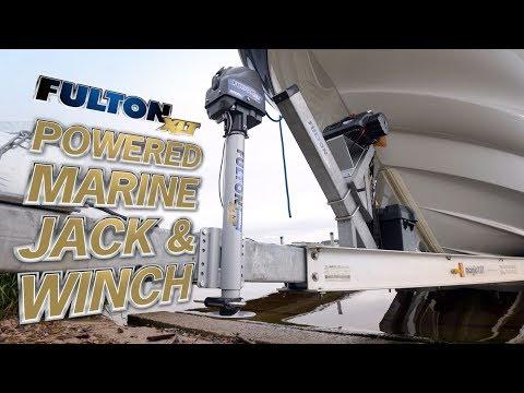 Fulton® XLT™ Powered Marine Winch & Jack