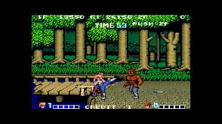 Double Dragon (Japan) - double dragon arcade playthrough 60 fps - User video