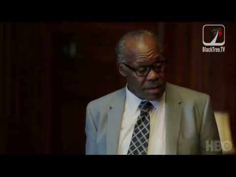 Danny Glover plays Thurgood Marshall in Muhammad Ali