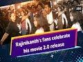 Rajinikanth's fans celebrate his movie 2.0 release - Tamil Nadu #News